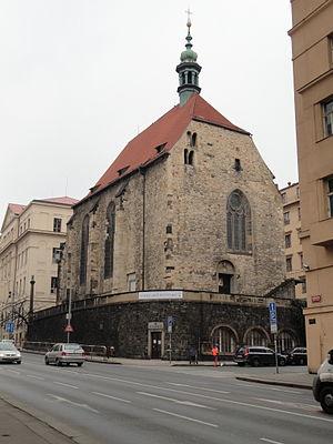 St. Wenceslas Church (Zderaz) - St. Wenceslas' Church at Zderaz as seen from Resslova Street