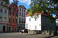 Kostelni 99, 100, 101 + na druhe strane ulice 107, Pardubice.JPG