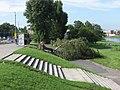 Kraków storm 2007 Most Grunwaldzki.jpg
