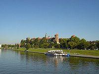 Wzg�rze Wawelskie od strony Wis�y