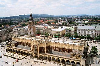 Cloth hall - Image: Krakow rynek 02