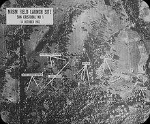 La foto scattata da un U-2, il 14 ottobre 1962, che fugò ogni dubbio sulla presenza di missili SS-4 Sandal e SS-5 Skean a Cuba.