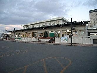 Kuji Station (Iwate) - JR Kuji Station in February 2007