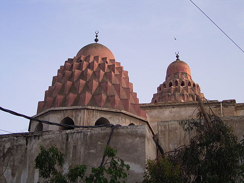Domes of Nur al-Din Mahmud's madrasa complex in Damascus (his burial place) Kuppel Nur ad-Din Madrasa.JPG