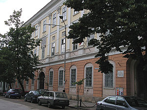 Avram Iancu - The former Piarist College of Cluj, today the Báthory István Liceum