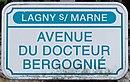L2789 - Plaque de rue - Avenue du Docteur Bergognié.jpg
