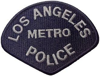 LAPD Metropolitan Division - Image: LAPD METRO 1
