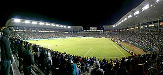 2003 FIFA Women's World Cup - Image: LA Galaxy vs Houston Dynamo Western Conference Finals panorama
