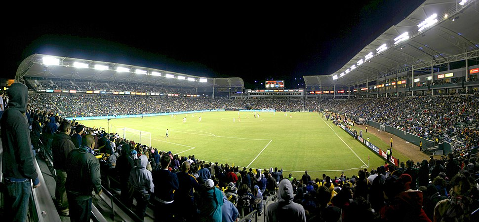 LA Galaxy vs Houston Dynamo- Western Conference Finals panorama