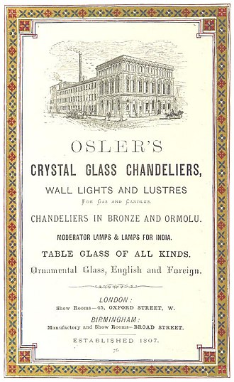 A. Follett Osler - Advertisement for Osler's products