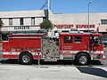 LOS ANGELES WESTERN AVENUE FIRE DEPARTMENT TRUCK IMAGE PATRICE RAUNET HOLLYWOOD.jpg