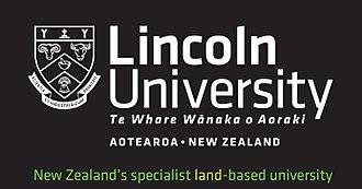 Lincoln University (New Zealand) - Image: LU logo