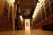 Bbibliothèque-musée de l'Opéra, espace de visite.