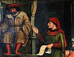 La Brigue - Collégiale Saint-Martin - Retable du martyre de saint Erasme -3.JPG