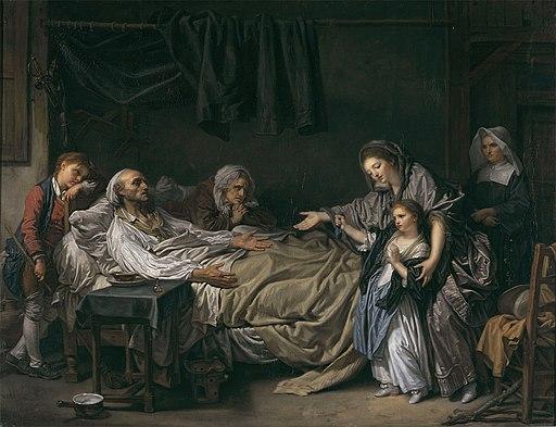 La Dame de charité - Jean-Baptiste Greuze