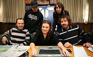 La Oreja de Van Gogh - The group before 2007, with Amaia Montero as singer.