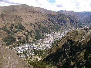 La Unión, Huánuco - La Unión from Gangash.
