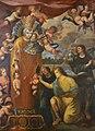La miraculosa talla de la imatge de la mare de Déu dels Desemparats pels àngels pelegrins, Gaspar de la Huerta, museu Marià, València.JPG
