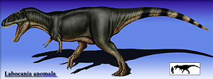 Labocania - Hypothetically restored as a tyrannosaur