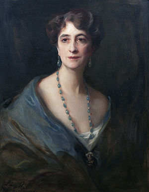 Evelyn Byng, Viscountess Byng of Vimy - Lady Byng, née Marie Evelyn Moreton (Philip Alexius de László, 1917)