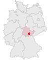 Lage des Landkreises Saalfeld-Rudolstadt in Deutschland.png