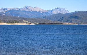 Lake Granby - Lake Granby looking east