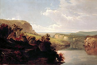Lake Mohonk - Image: Lake Among the Hills by William Hart, 1858