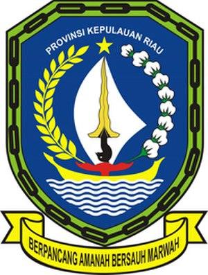 2016 ISC Liga Nusantara - Image: Lambang Riau Kepulauan