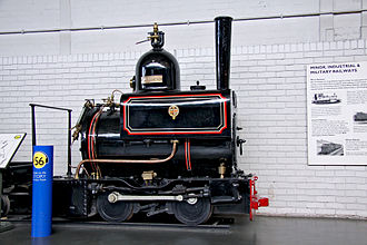 Horwich - Horwich Works 18-inch gauge 0-4-0 locomotive