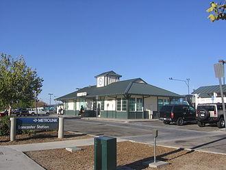 Lancaster station (California) - Lancaster station, 2012