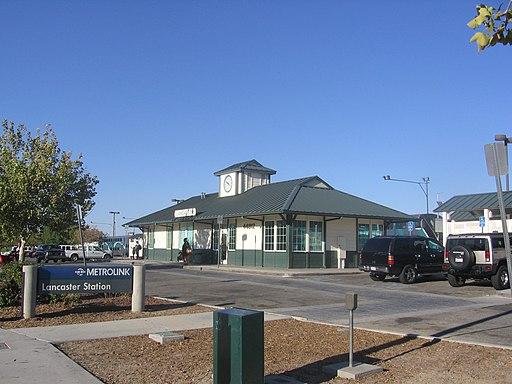 Lancaster Metrolink station 2145 06