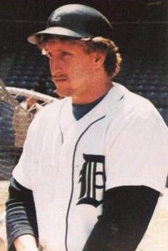 Lance Parrish - Parrish in 1983