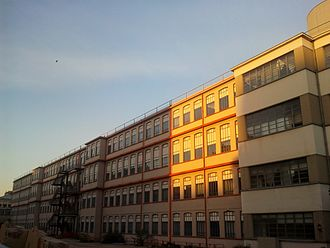 Lancia - The former Lancia Borgo San Paolo Plant in Turin, where Lancia automobiles were first produced
