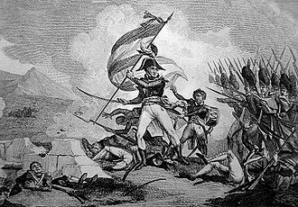 Jean Lannes - Lannes at the battle of Bassano (1796)