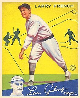 Larry French American baseball player