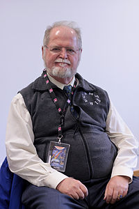 Larry Niven (Paris, 2010).