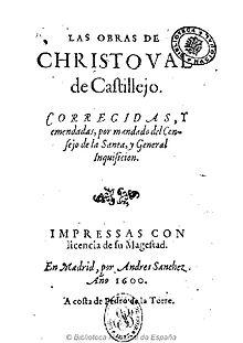 SONETOS :  II INTRODUCCIÓN - HISTORIA - ESTRUCTURA POÉTICA - SELECCIÓN DE SONETOS EN CASTELLANO - Página 33 220px-Las_obras_de_Christoual_de_Castillejo_1600
