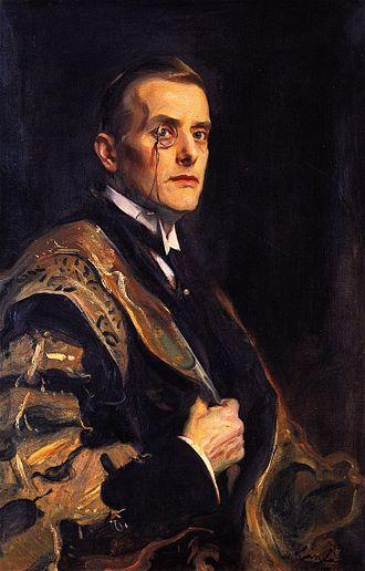 Austen Chamberlain - Portrait by Philip de László, 1920
