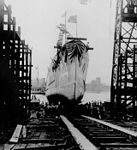 Launch of USS William B. Preston (DD-344) at Norfolk Navy Yard 1919.jpg