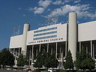 LaVell Edwards - LaVell Edwards Stadium at Brigham Young University