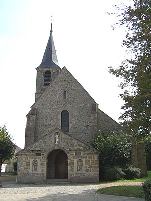 Le Mesnil-Saint-Denis - The church