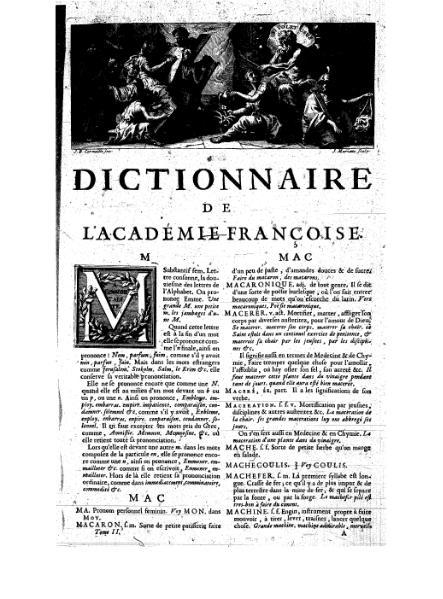 File:Le dictionnaire de l'Academie françoise - 1694 - T2 - M-Q.djvu