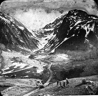 Pyreneism - The Port de Venasque in Luchon in 1875