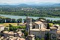 Le village et le Rhône depuis la vierge.JPG