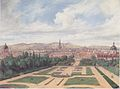 Leander Russ - Ansicht von Wien vom Belvedere aus - 1841.jpeg