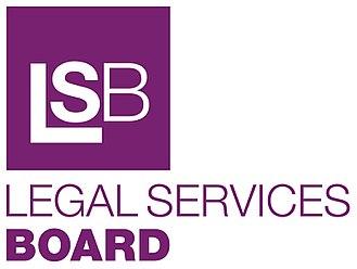 Legal Services Board - Image: Legal Services Board logo