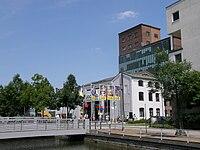 Legoland Duisburg Innenhafen Werhahnmuehle.JPG