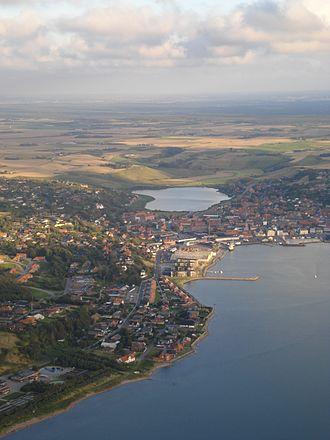 Lemvig - Aerial view of Lemvig