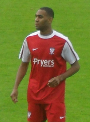 Leon Constantine - Constantine playing for York City in 2010