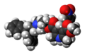 Lercanidipine molecule spacefill.png